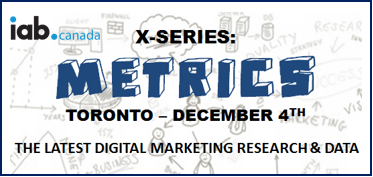 X-Series Metrics Media Research IAB Canada