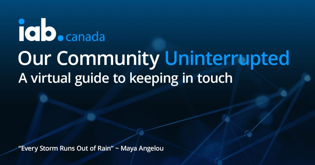 Community Uninterrupted April 20-24