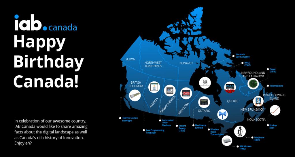 Happy Birthday from IAB Canada