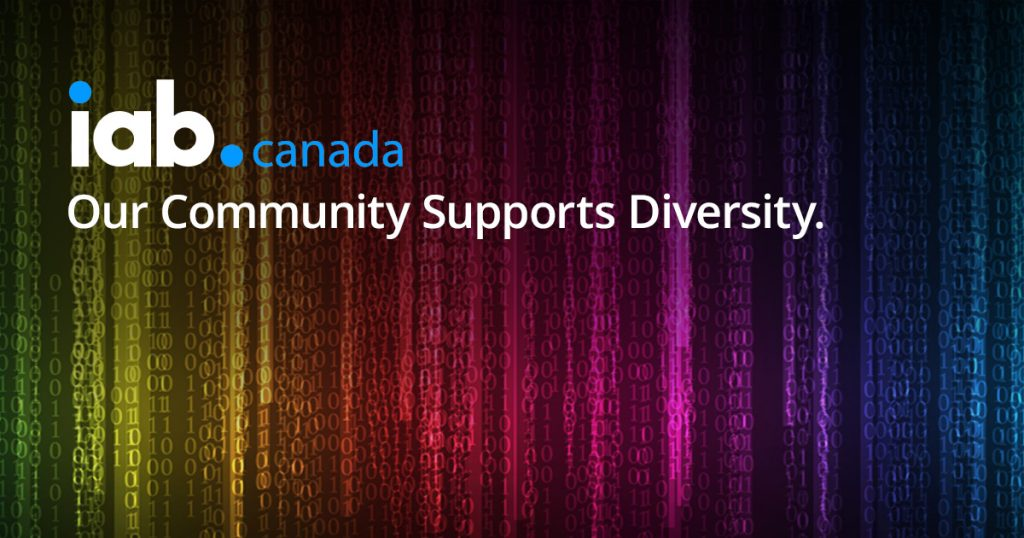 IAB Canada - Our Community Supports Diversity